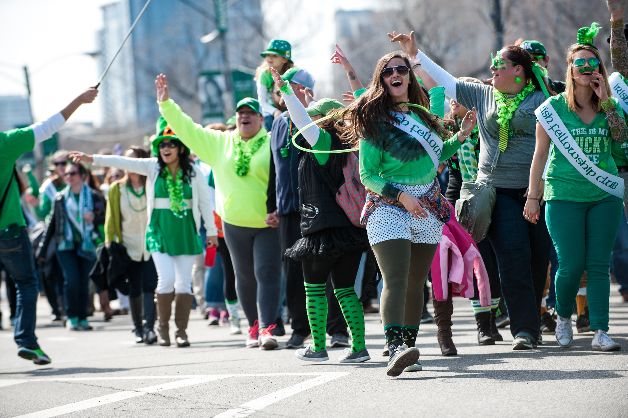 The Annual San Diego St Patricks Day Parade largest Parade west of the Mississippi will step off on Saturday March 16th 2019 at 1030 am on Fifth Avenue at